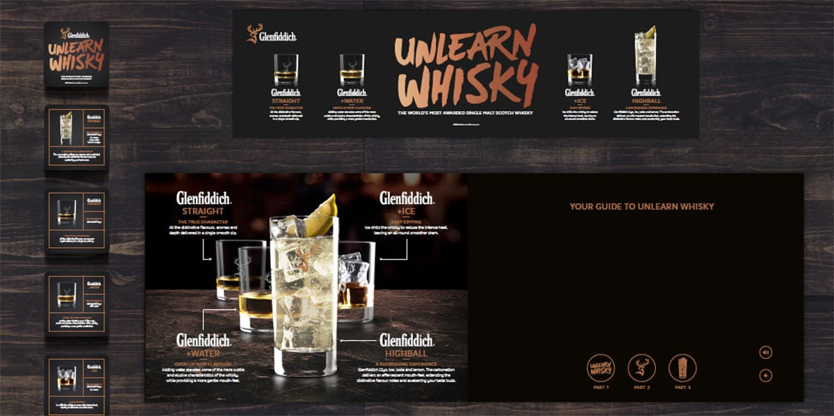 Glenfiddich Unlearn Whisky Video Card
