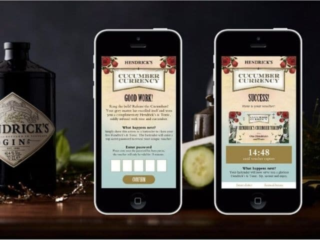 Hendricks Cucumber Currency App