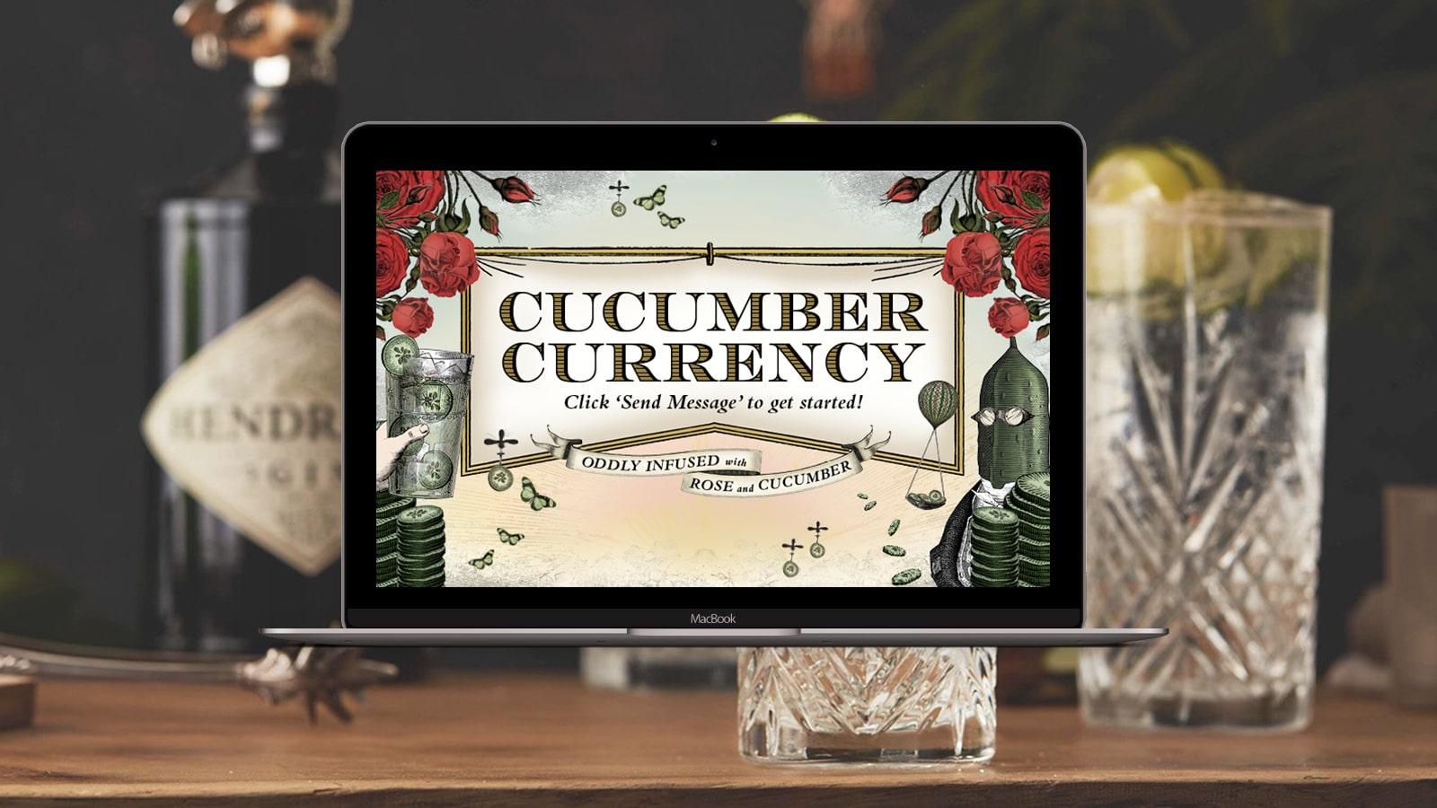 Hendricks Cucumber Currency Desktop