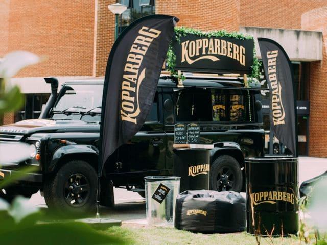 Kopparberg Defender Truck